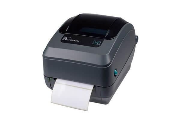 Настольный принтер этикеток Zebra GK420t, фото 2