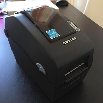 Настольный принтер этикеток Bixolon SLP-D220G, фото 2