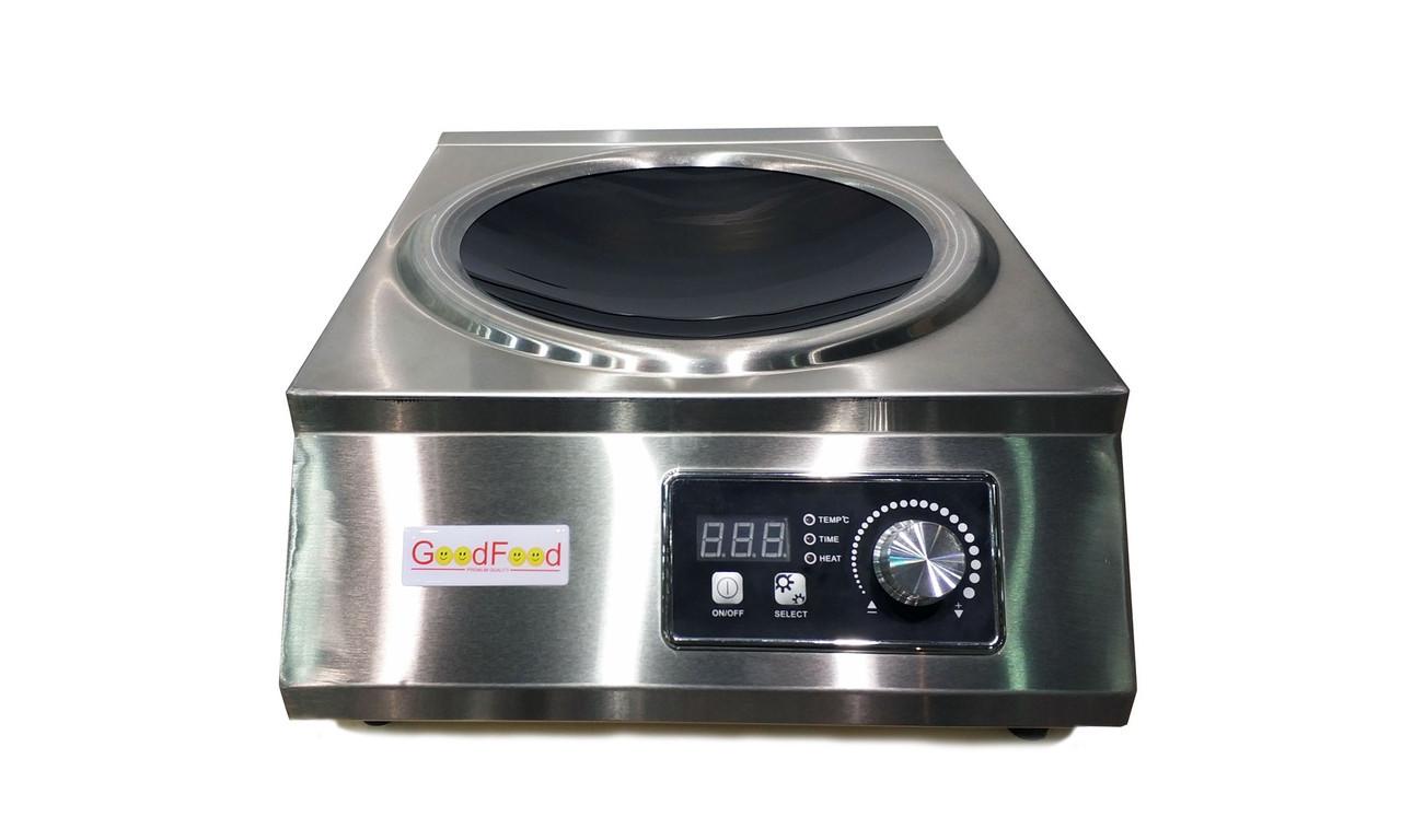 Плита индукционная GoodFood IC35 WOK/ плита индукционная ВОК