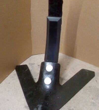 Защита стойки культиватора КГШ из композитного материала Текрон