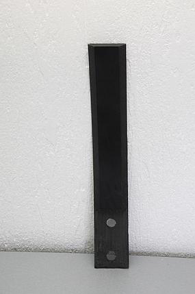 Защита стойки культиватора КГШ из композитного материала Текрон, фото 2