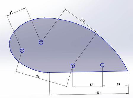 Отвал предплужника Lemken из композитного материала Tekrone, фото 2