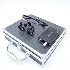 Комплект бинокуляры 3.5x-420 + подсветка, black