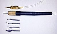 Ручка для электрошпателя Dokatech, нагрематель 2мм. + 4 насадки