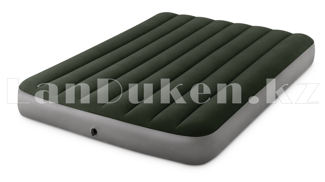 Надувной матрас кровать полуторный Intex с технологией Fiber-Tech 137*191*25 см 64108 - фото 3
