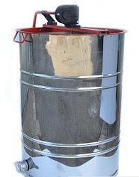 Медогонка нержавейка поворотная 4-х рамочная РКС под рамку РУТА