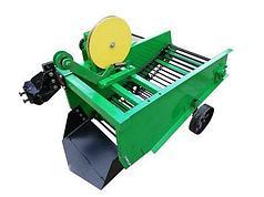 Картофелекопалка транспортерная для мототрактора КМТ-1-44