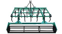 Культиватор пружинный для минитракторов с грудобоем