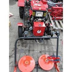 Косилка роторная на мотоблока-трактора с гидравликой Вулкан