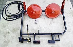 Косилка роторная на мотоблока-трактора с гидравликой Вулкан, фото 2