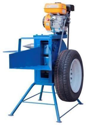 Измельчитель веток с приводом от бензинового двигателя (двухсторонняя заточка), фото 2