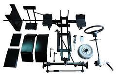 Комплект по переоборудованию мотоблока КИТ набор №1(базовый, механические тормоза)