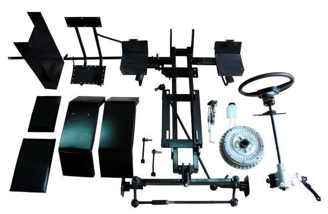 Комплект по переоборудованию мотоблока КИТ набор №2(базовый+задний подьемный механизм, 4 болта)