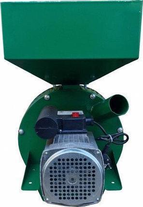 Зернодробилка ФЕРМЕР Д-2 2,5 кВт исп.05 зерно+початки кукурузы (3 сетки+запасной диск на 24 молотка), фото 2