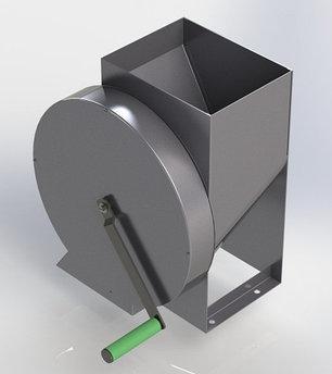Корморезка ручная дисковая ЛАН, фото 2