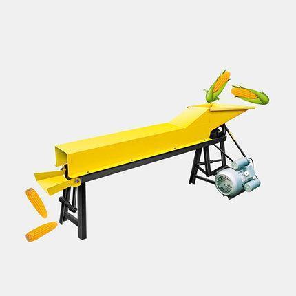 Очиститель початков кукурузы (кукурузолущилка, 500кг/час) 1.5кВт, фото 2