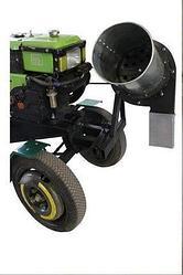 Измельчитель сена и соломы Ярило (80 кг/час) с приводом до мотоблока, мототрактора