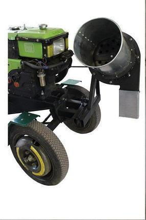 Измельчитель сена и соломы Ярило (80 кг/час) с приводом до мотоблока, мототрактора, фото 2