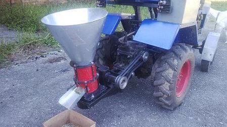 "Гранулятор комбикорма, пеллет ""Ярило"" (привод от мотоблока, мототрактора, 100 кг/час) , фото 2"