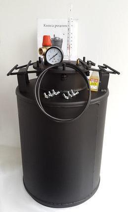 Автоклав бытовой с взрывным клапаном на 10 литровых банок(или 24 пол-литровых)  , фото 2