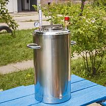 Автоклав бытовой ЛЮКС 21 пол.литр., из нержавеющей стали для домашнего консервирования , фото 2