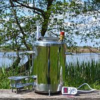 Автоклав бытовой ЛЮКС 14 пол.литр. электро, из нержавеющей стали для домашнего консервирования
