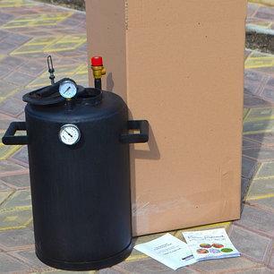 Автоклав Троян 24 банки по 0,5 литра или 12 банок 1 литр(углеродистая сталь) , фото 2