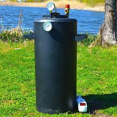 Автоклав электрический Троян 32 банки по 0,5 литра или 16 банок 1 литр(углеродистая сталь)