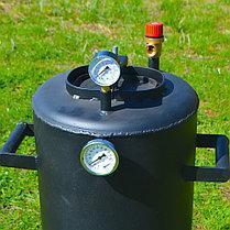 Автоклав электрический Троян 32 банки по 0,5 литра или 16 банок 1 литр(углеродистая сталь) , фото 2