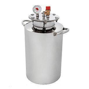 Автоклав HousePro-24 из пищевой нержавейки 24 пол литровых банок (14 литровых) , фото 2