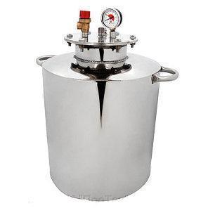 Автоклав HousePro-42 из пищевой нержавейки 42 пол литровых банок (18 литровых) , фото 2
