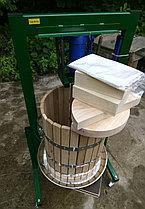 Пресс для сока 50л с домкратом, давление 10 тон, гидравлический, фото 3