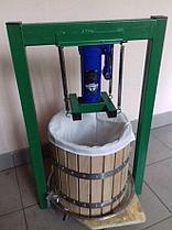 Гидравлический пресс для сока 15 л с Новым домкратом 3 тонн , фото 2