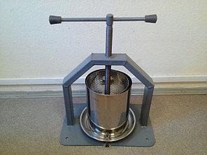 Пресс для отжима сока виноградный 10 л
