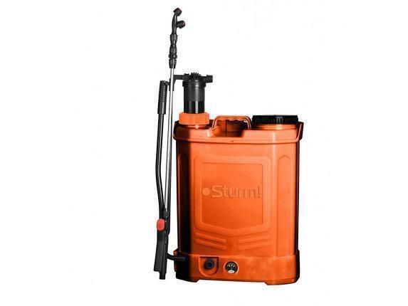 Опрыскиватель аккумуляторный, 16л с ручной подкачкой (2в1) Энергомаш САО-4016П , фото 2