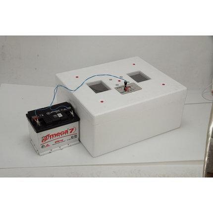 Автоматический инкубатор Несушка М (76 яиц., 12В, экспортный образец, вентилятор, гигрометр)