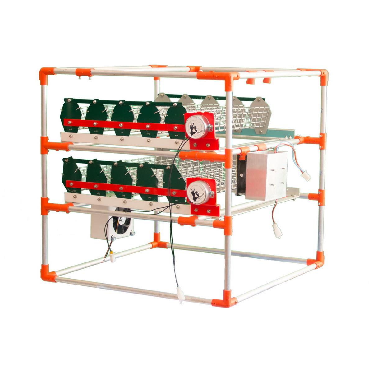 Автоматический инкубатор-конструктор (220V) на 90 яиц, с увлажнителем - фото 2