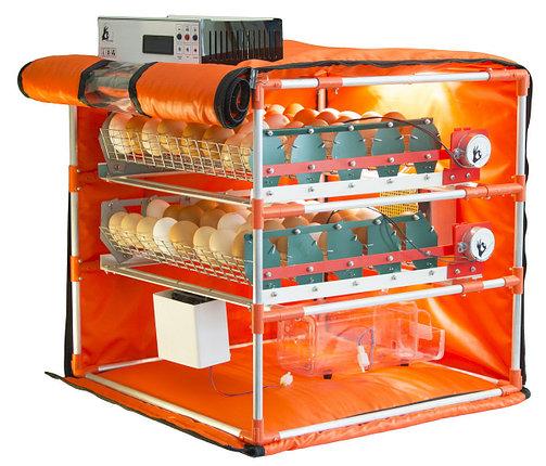 Автоматический инкубатор-конструктор (220V) на 56 яиц водоплавающих птиц, с увлажнителем, WI-FI , фото 2