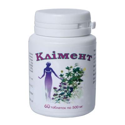 Климент для лечения воспалительных и гормональных заболеваний у женщин