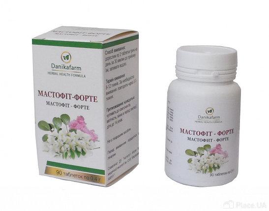 Мастофит – форте Лечение мастопатии, эндометоиоза, миом, фибромиом, предменструальный синдром, фото 2