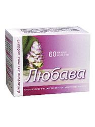 Препарат для нормализации менструального цикла Любава