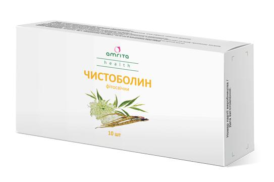 Натуральный препарат для женщин болиголов Чистоболин фитосвечи, фото 2