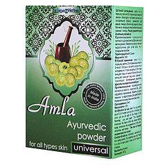 Амла аюрведический порошок - для укрепления корней волос, устраняет перхоть и седину.