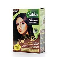 Индийская коричневая краска для волос Vatika Henna с хной