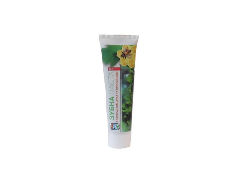 Зубная паста с экстрактом Дуба и Прополисом
