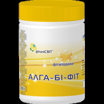"""Витамины для иммунитета """"Алга-би-фит"""" на основе спирулины, прополиса, содержит витамины группы В, фото 2"""