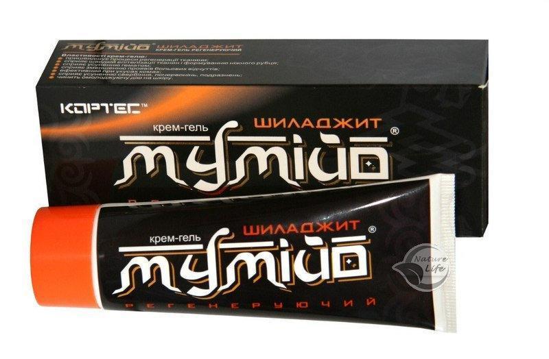 Крем-гель Мумие Шиладжит
