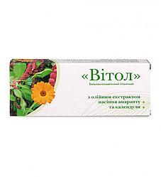 """Свечи """"Витол""""с масляным экстрактом семян амаранта и календулы для лечения геморроя и трещин заднего прохода"""