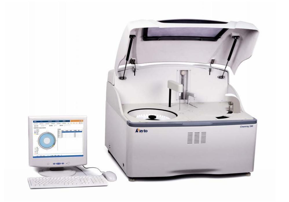 Компактный настольный анализатор для лаборатории Chemray 240