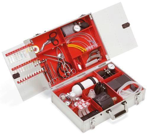 Реанимационный чемодан ULM CASE II (Полная комплектация Standard)